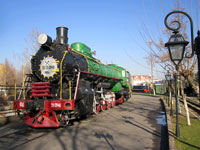 Музей паровозов в Ташкенте