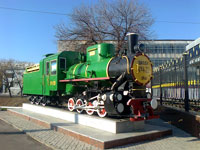 Музей железнодорожной техники в Ташкенте