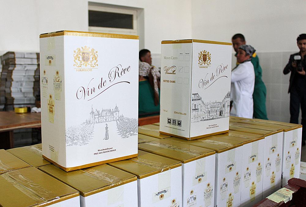 Упаковка вина