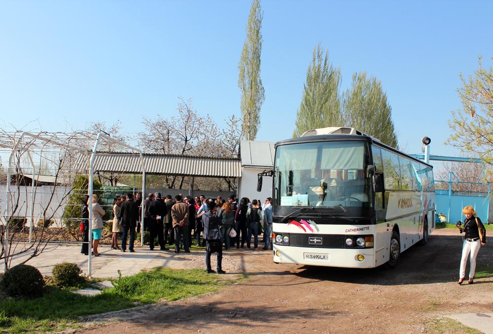 Uzbekistan Winery tour