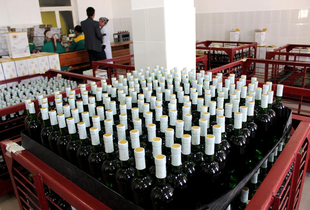 Цех разлива вин