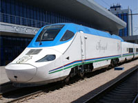 Afrosiyob High Speed Train