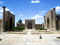 Площадь Регистан, Самарканд