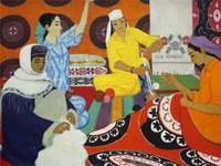 В Ташкенте открылась выставка Намоза Султанова