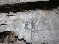 Петроглифы ущелья Сармышсай