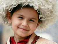 Узбекская девочка
